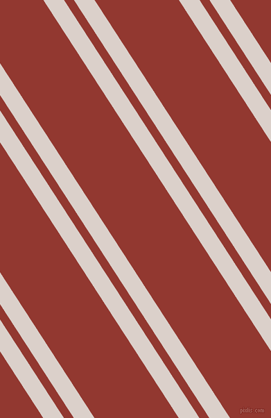 123 degree angles dual striped lines, 25 pixel lines width, 12 and 102 pixels line spacing, Swiss Coffee and Thunderbird dual two line striped seamless tileable