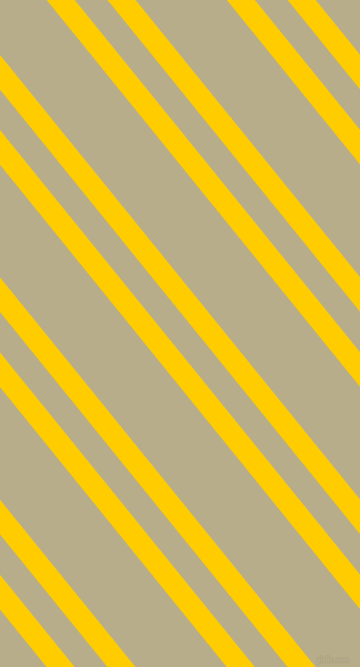 129 degree angle dual stripe line, 24 pixel line width, 28 and 78 pixel line spacing, Tangerine Yellow and Chino dual two line striped seamless tileable