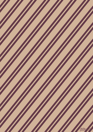51 degree angle dual striped lines, 6 pixel lines width, 4 and 19 pixel line spacing, Tawny Port and Cashmere dual two line striped seamless tileable
