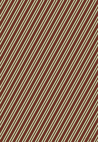 61 degree angles dual striped line, 3 pixel line width, 4 and 10 pixels line spacing, Tea Green and Pueblo dual two line striped seamless tileable
