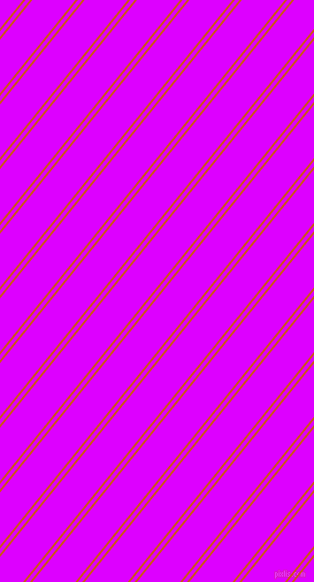51 degree angle dual stripes lines, 2 pixel lines width, 4 and 38 pixel line spacing, Tenne Tawny and Psychedelic Purple dual two line striped seamless tileable