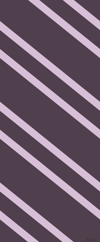 141 degree angles dual stripe lines, 23 pixel lines width, 48 and 111 pixels line spacing, Thistle and Purple Taupe dual two line striped seamless tileable