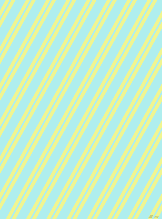 61 degree angles dual stripes line, 12 pixel line width, 6 and 32 pixels line spacing, Tidal and Pale Turquoise dual two line striped seamless tileable