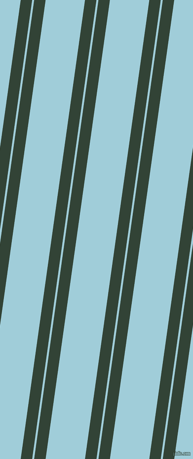82 degree angles dual stripe lines, 23 pixel lines width, 4 and 79 pixels line spacing, Timber Green and Regent St Blue dual two line striped seamless tileable