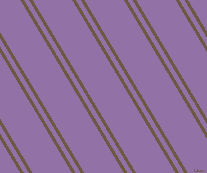 121 degree angle dual stripes lines, 10 pixel lines width, 14 and 109 pixel line spacing, Tobacco Brown and Ce Soir dual two line striped seamless tileable