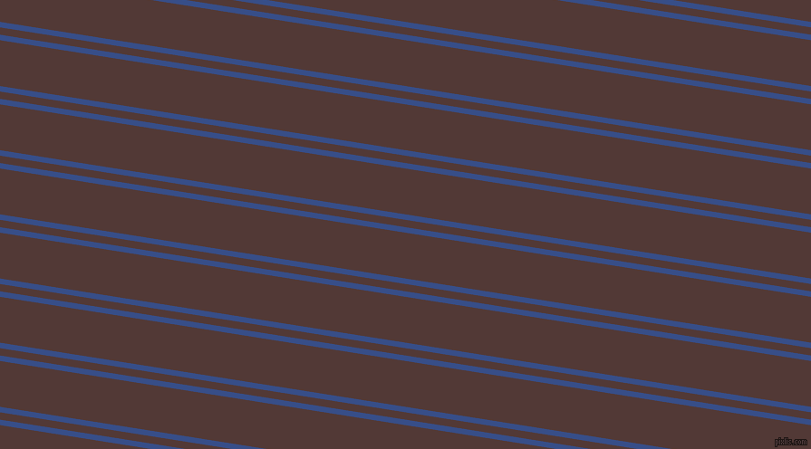 171 degree angle dual stripes lines, 6 pixel lines width, 8 and 50 pixel line spacing, Tory Blue and Van Cleef dual two line striped seamless tileable