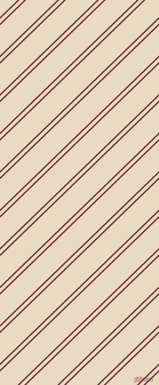 44 degree angles dual striped lines, 3 pixel lines width, 6 and 42 pixels line spacing, Tosca and Solitaire dual two line striped seamless tileable