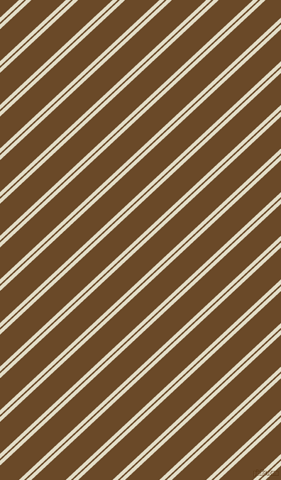 43 degree angles dual stripe line, 5 pixel line width, 2 and 33 pixels line spacing, Travertine and Cafe Royale dual two line striped seamless tileable