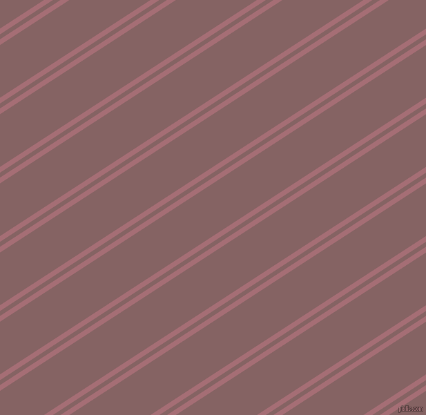 33 degree angle dual stripe lines, 7 pixel lines width, 6 and 64 pixel line spacing, Turkish Rose and Light Wood dual two line striped seamless tileable