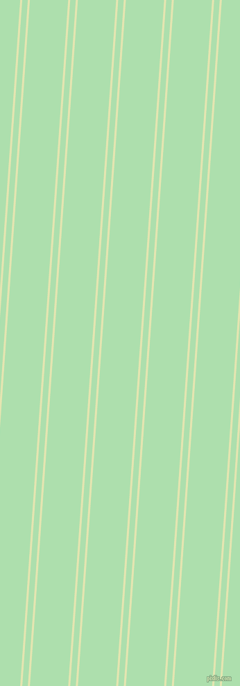 86 degree angles dual striped lines, 3 pixel lines width, 8 and 55 pixels line spacing, Tusk and Moss Green dual two line striped seamless tileable