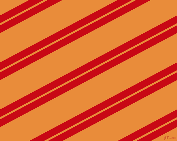 28 degree angles dual stripe line, 22 pixel line width, 6 and 83 pixels line spacing, Venetian Red and California dual two line striped seamless tileable