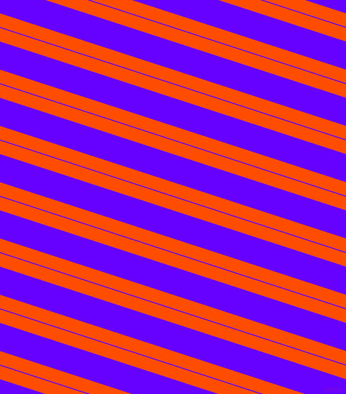 162 degree angles dual striped lines, 26 pixel lines width, 2 and 54 pixels line spacing, Vermilion and Electric Indigo dual two line striped seamless tileable