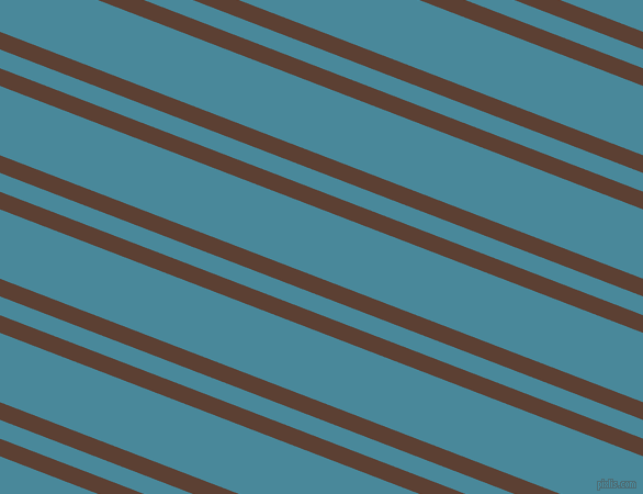 159 degree angle dual stripes line, 15 pixel line width, 16 and 59 pixel line spacing, Very Dark Brown and Hippie Blue dual two line striped seamless tileable