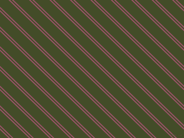 136 degree angles dual stripe line, 4 pixel line width, 4 and 37 pixels line spacing, Vin Rouge and Bronzetone dual two line striped seamless tileable