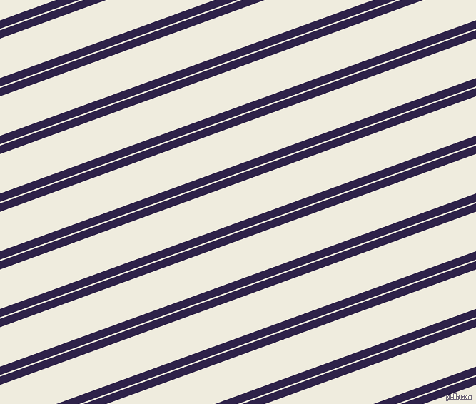 20 degree angles dual stripe line, 11 pixel line width, 2 and 52 pixels line spacing, Violent Violet and Rice Cake dual two line striped seamless tileable