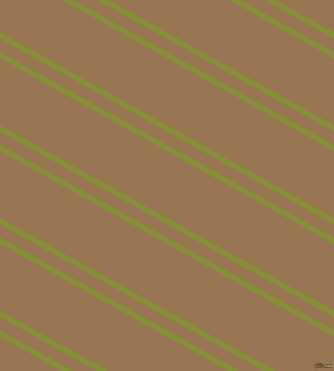 151 degree angles dual striped line, 11 pixel line width, 24 and 120 pixels line spacing, Wasabi and Pale Brown dual two line striped seamless tileable