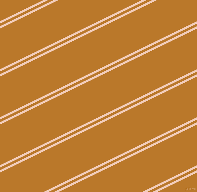 26 degree angles dual stripe lines, 7 pixel lines width, 8 and 122 pixels line spacing, Watusi and Pirate Gold dual two line striped seamless tileable