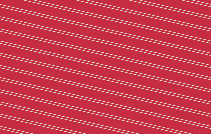 167 degree angle dual stripe line, 2 pixel line width, 6 and 31 pixel line spacing, White Pointer and Brick Red dual two line striped seamless tileable