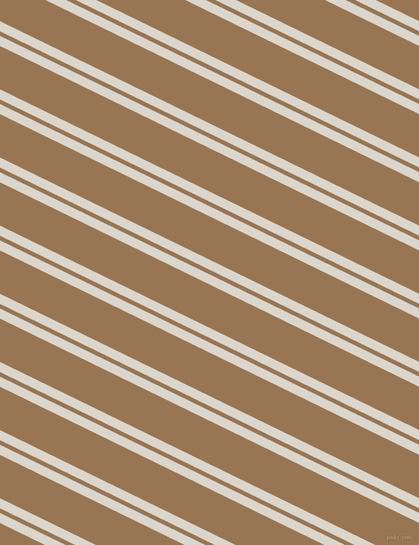 154 degree angles dual stripes line, 13 pixel line width, 6 and 56 pixels line spacing, White Pointer and Pale Brown dual two line striped seamless tileable