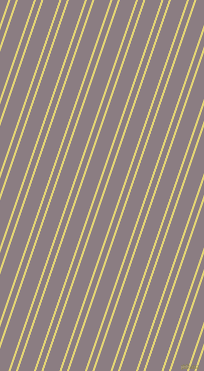 71 degree angle dual stripes line, 4 pixel line width, 10 and 30 pixel line spacingWild Rice and Venus dual two line striped seamless tileable