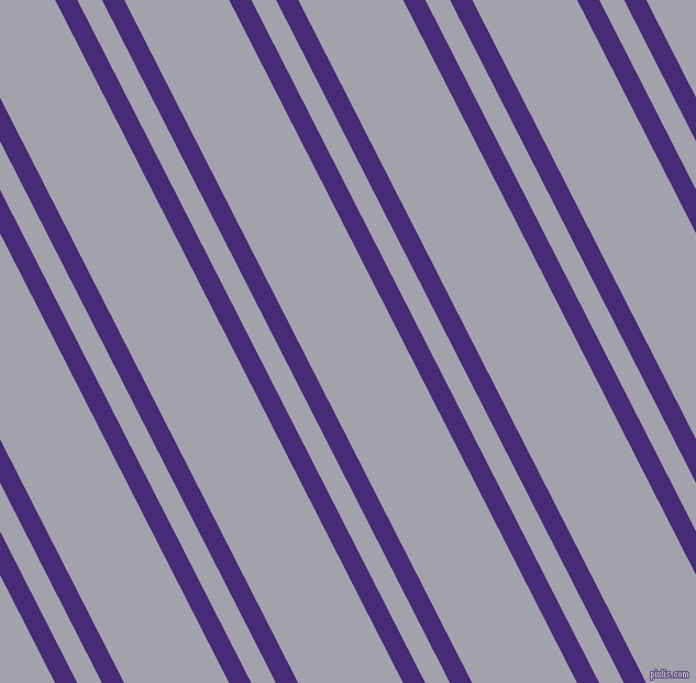 117 degree angles dual stripe line, 18 pixel line width, 20 and 85 pixels line spacing, Windsor and Spun Pearl dual two line striped seamless tileable