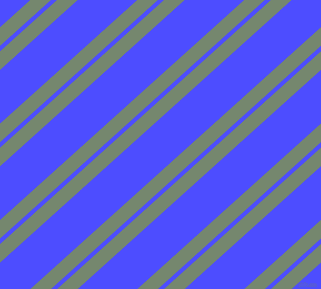 42 degree angles dual stripe line, 27 pixel line width, 8 and 78 pixels line spacing, Xanadu and Neon Blue dual two line striped seamless tileable