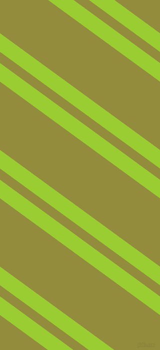 144 degree angle dual stripes line, 30 pixel line width, 18 and 110 pixel line spacing, Yellow Green and Highball dual two line striped seamless tileable
