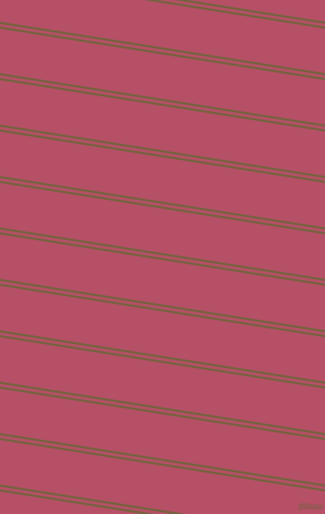 171 degree angle dual stripes line, 3 pixel line width, 4 and 64 pixel line spacing, Yellow Metal and Blush dual two line striped seamless tileable