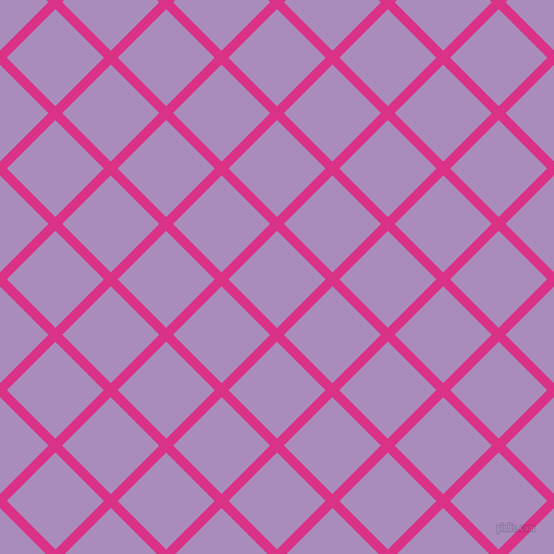 45/135 degree angle diagonal checkered chequered lines, 9 pixel lines width, 63 pixel square size, plaid checkered seamless tileable