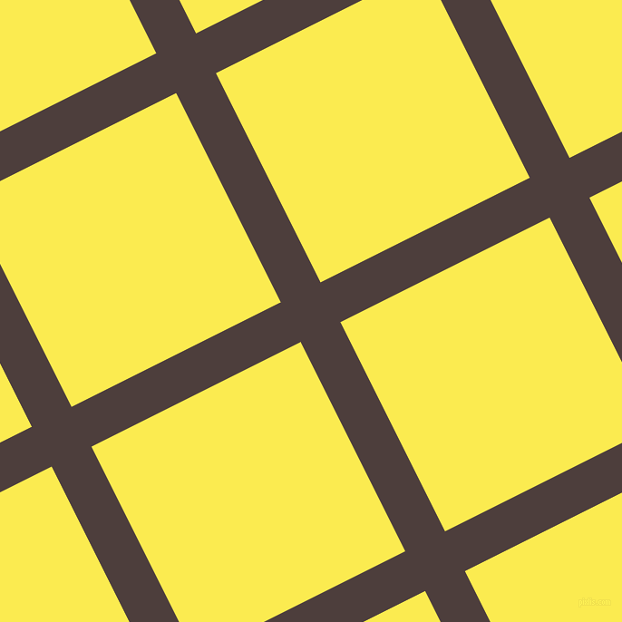 27/117 degree angle diagonal checkered chequered lines, 49 pixel line width, 258 pixel square size, plaid checkered seamless tileable