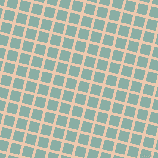 76/166 degree angle diagonal checkered chequered lines, 9 pixel lines width, 34 pixel square size, plaid checkered seamless tileable