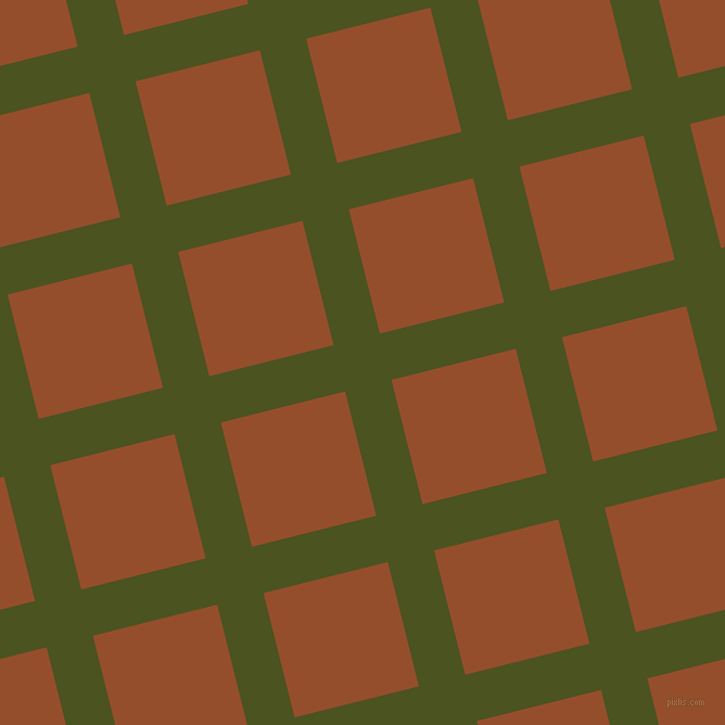 14/104 degree angle diagonal checkered chequered lines, 44 pixel lines width, 118 pixel square size, plaid checkered seamless tileable