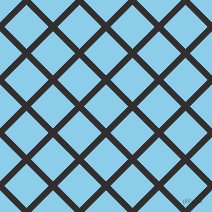 45/135 degree angle diagonal checkered chequered lines, 12 pixel lines width, 61 pixel square size, plaid checkered seamless tileable