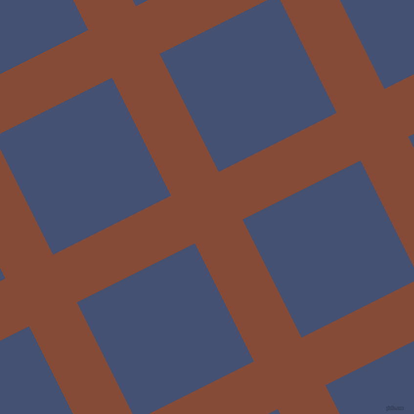 27/117 degree angle diagonal checkered chequered lines, 109 pixel line width, 270 pixel square size, plaid checkered seamless tileable