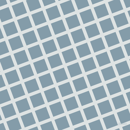 21/111 degree angle diagonal checkered chequered lines, 14 pixel line width, 51 pixel square size, plaid checkered seamless tileable