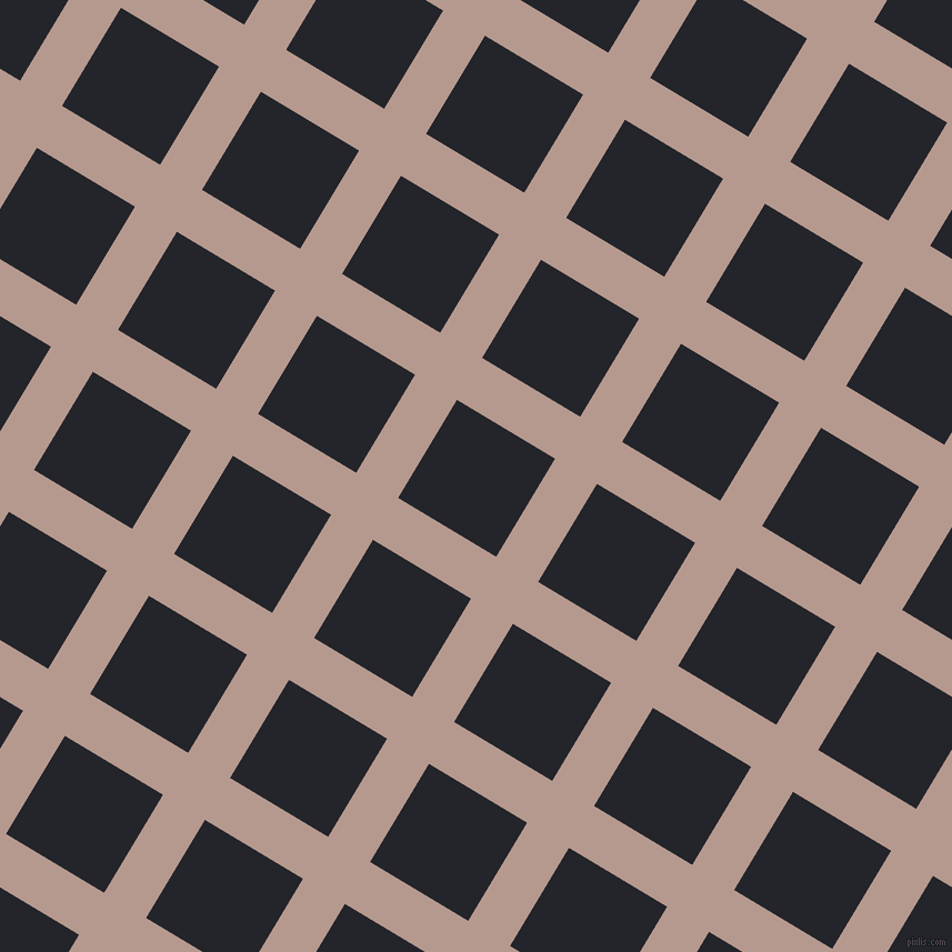 59/149 degree angle diagonal checkered chequered lines, 44 pixel line width, 103 pixel square size, plaid checkered seamless tileable