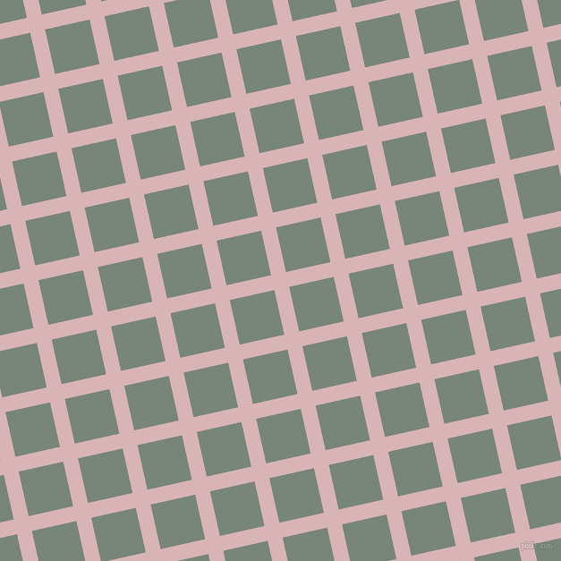 13/103 degree angle diagonal checkered chequered lines, 17 pixel lines width, 51 pixel square size, plaid checkered seamless tileable