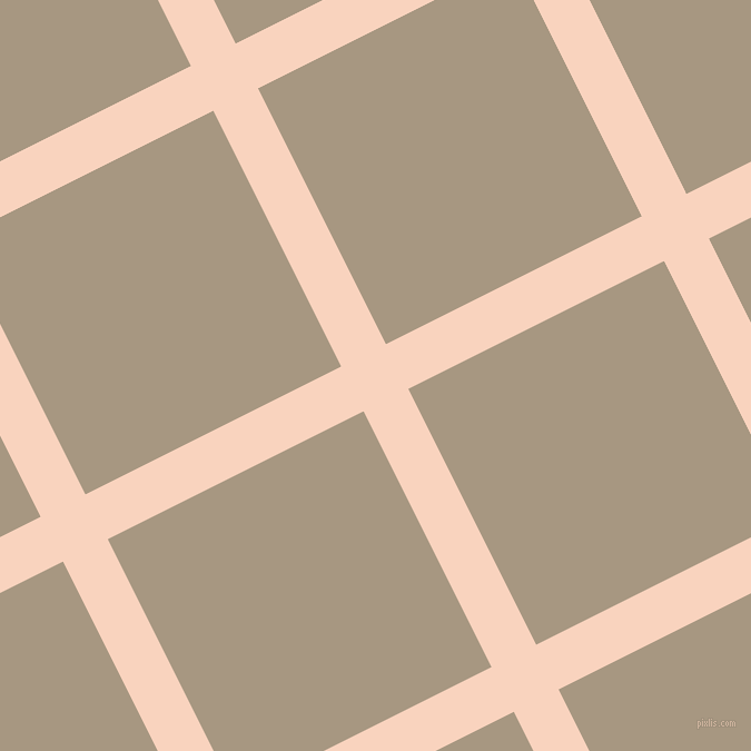 27/117 degree angle diagonal checkered chequered lines, 45 pixel lines width, 257 pixel square size, plaid checkered seamless tileable
