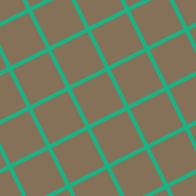 27/117 degree angle diagonal checkered chequered lines, 14 pixel line width, 136 pixel square size, plaid checkered seamless tileable