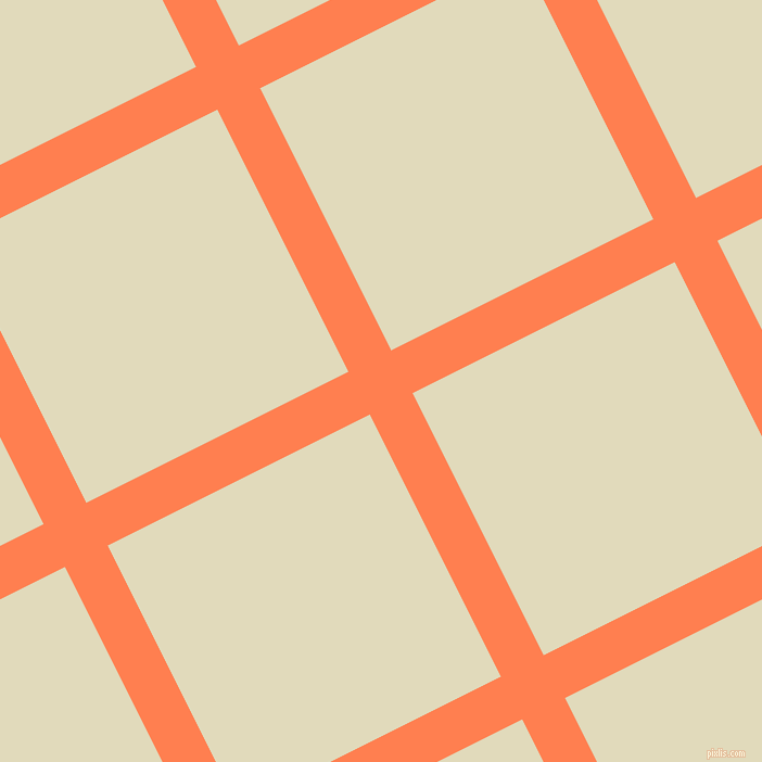 27/117 degree angle diagonal checkered chequered lines, 44 pixel line width, 270 pixel square size, plaid checkered seamless tileable