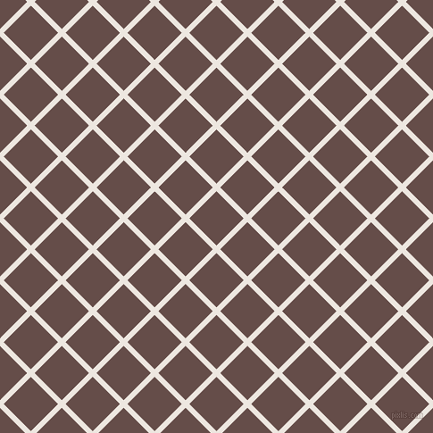45/135 degree angle diagonal checkered chequered lines, 6 pixel lines width, 43 pixel square size, plaid checkered seamless tileable