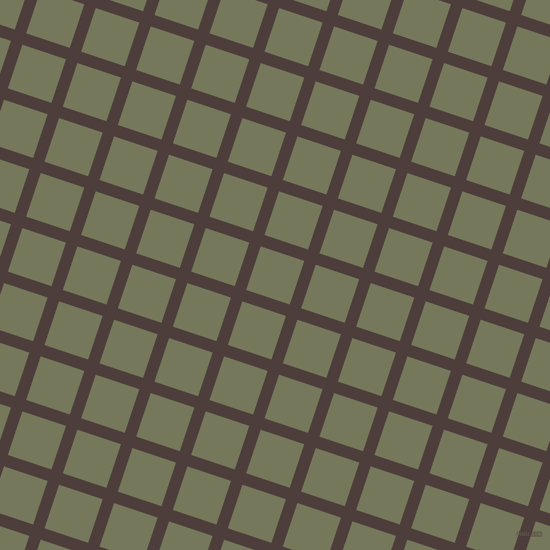 72/162 degree angle diagonal checkered chequered lines, 17 pixel lines width, 65 pixel square size, plaid checkered seamless tileable