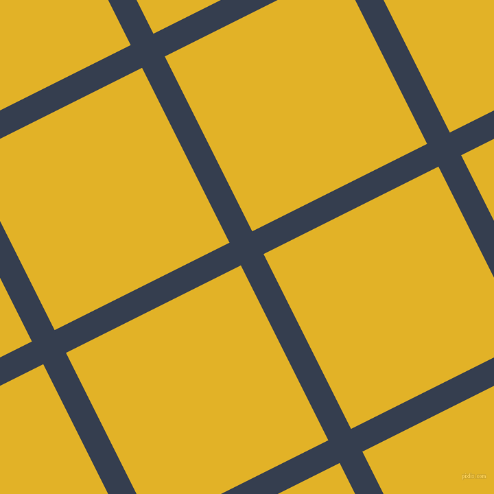 27/117 degree angle diagonal checkered chequered lines, 37 pixel line width, 285 pixel square size, plaid checkered seamless tileable