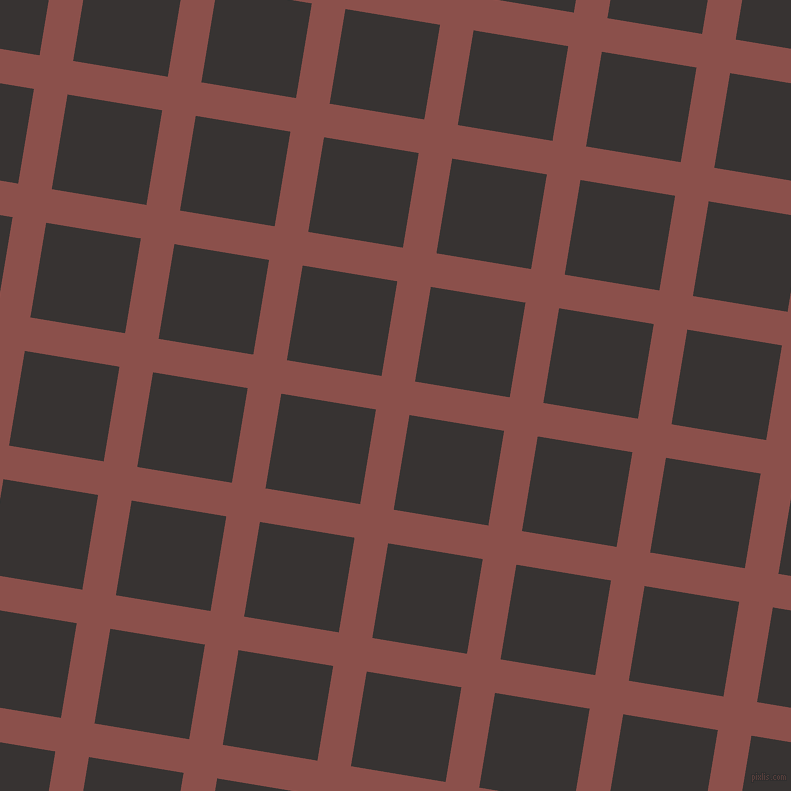81/171 degree angle diagonal checkered chequered lines, 34 pixel line width, 96 pixel square size, plaid checkered seamless tileable
