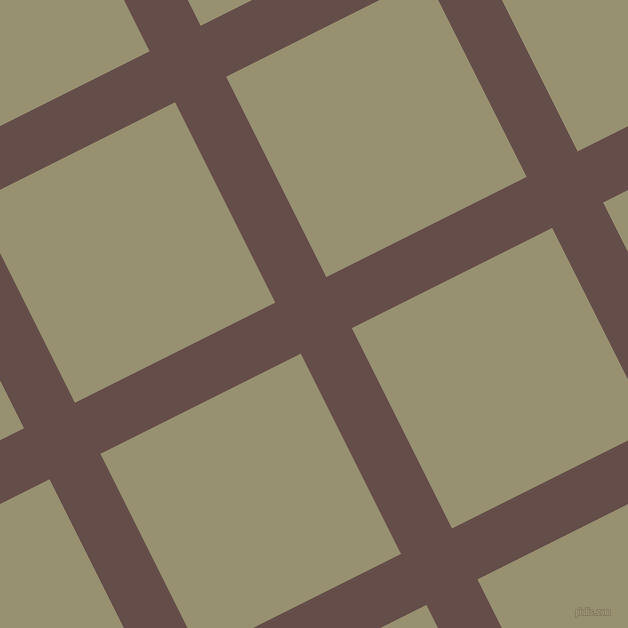 27/117 degree angle diagonal checkered chequered lines, 57 pixel line width, 224 pixel square size, plaid checkered seamless tileable