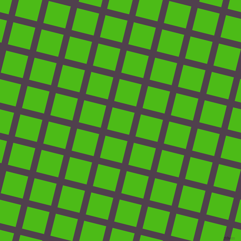 76/166 degree angle diagonal checkered chequered lines, 21 pixel lines width, 73 pixel square size, plaid checkered seamless tileable