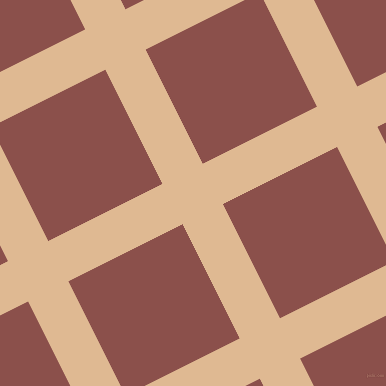 27/117 degree angle diagonal checkered chequered lines, 90 pixel line width, 255 pixel square size, plaid checkered seamless tileable