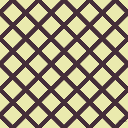 45/135 degree angle diagonal checkered chequered lines, 17 pixel lines width, 52 pixel square size, plaid checkered seamless tileable