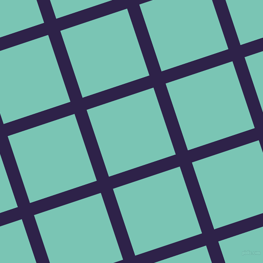 18/108 degree angle diagonal checkered chequered lines, 25 pixel line width, 138 pixel square size, plaid checkered seamless tileable