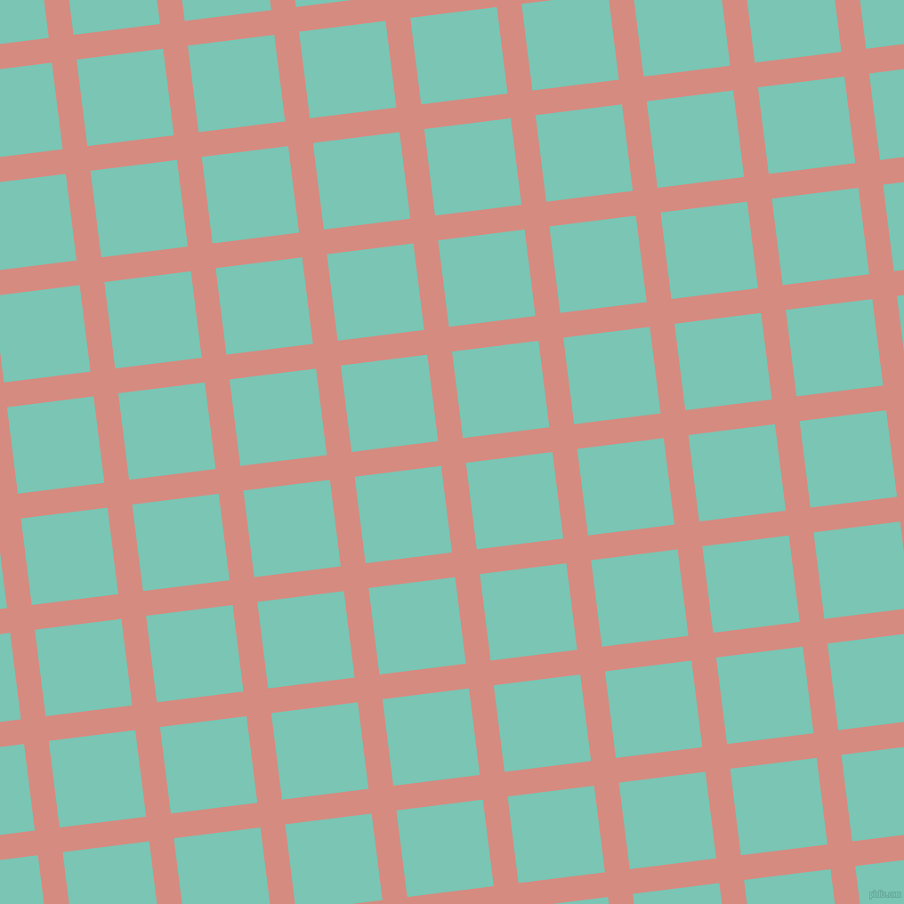 7/97 degree angle diagonal checkered chequered lines, 28 pixel lines width, 98 pixel square size, plaid checkered seamless tileable